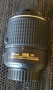 Nikon AF-S Nikkor 55-200mm G II ED VR DX