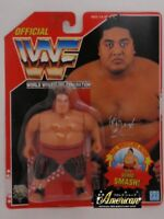 WWF WWE Hasbro Wrestling Figure 1994 Series 8: Yokozuna Red Card Very Rare