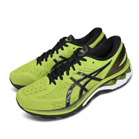 Asics Gel-Kayano 27 4E Extra Wide Lime Zest Black Men Running Shoes 1011A833-300