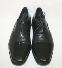 Mezlan Mens Black Patent Leather Cap Toe Oxford Shoes Sz 12 M Dress Formal