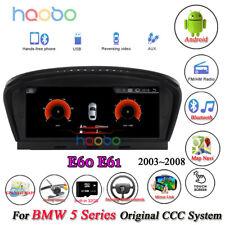 Android 8.1 Car GPS Navigation Wifi for BMW 3 5 Series E60 E61 E63 E90 2003-2012