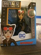 DC Metals Die Cast Catwoman Black Costume 4in. M370  New in Box