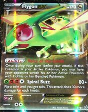 FLYGON EX Holo Pokemon RARE Card Black Star Promo XY61
