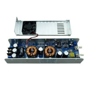 800W 40A DC Boost Converter Step-up Power Supply Module IN 10.5-60V OUT 15-65V