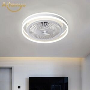 Smart Ceiling Fan With Light Remote Control | Bedroom Decor Children's room