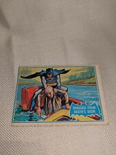 "BATMAN Card #25B ""DRAGGED FROM DEATH'S .."" 1966 National Periodical Publications"