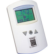 KMC STE-8001W80 - Digital Sensor: SimplyVAV Temperature White;;;; - KMC