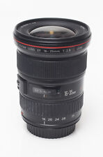 Canon 16-35mm f/2.8 Super-wide L-Series Lens w/caps, hood