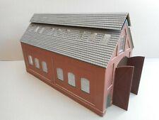 More details for o gauge locomotive shed model railway building new.