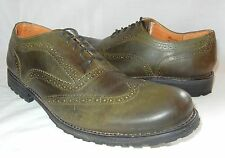 Bed Stu Men's Marquee Leather Wingtip Brogues Lace Up Shoes Retail $190 size 10