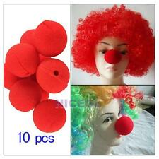 10 PCS Party Sponge Ball Red Clown Magic Nose for Halloween Masquerade Ball Gift