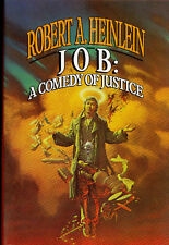 Job: A Comedy of Justice by Robert A. Heinlein, First Edition First Print HC/DJ