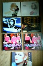 MADONNA COLLECTION OF  7 x  CD SINGLES PLUS 3 FREE. AND ALL LONG SINCE DELETED
