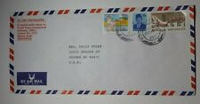 Indonesia Airmail Cover World Vision 1996 Sc# 1254 1261 1291