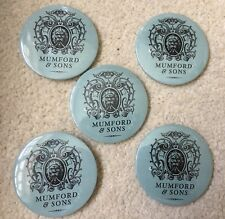 Mumford & Sons Promotional Badges (5)