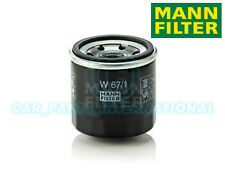 Mann Hummel OE Quality Replacement Engine Oil Filter W 67/1
