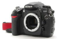 【Near Mint】Nikon D200 10.2 MP Digital SLR Camera Black Body Only From Japan #569