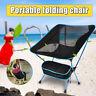 Campingstuhl Faltbar Outdoor Angler Klapp Garten Strand Falt Stuhl Ultraleicht