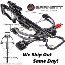 Barnett Crossbows Whitetail Hunter Compound Crossbow 4x32 Rope Quiver Arrows New