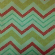 Orange and Yellow Chevron Upholstery Curtains Pillows Fabric by the Yard