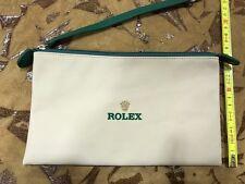 Rolex Pochette white green nylon genuine 100% new originale nuova