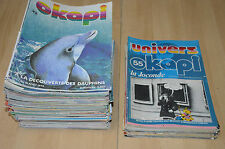 ENORME lot 92 magazines OKAPI parmi les n°33 à 138 + 42 univers d'Okapi