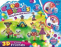 John Adams Ezee Beads 3D Kids Craft Little Friends Game New Inc over 1200 Beads