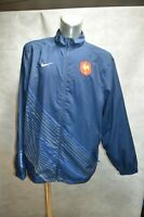 BLOUSON VESTE NIKE EQUIPE DE FRANCE RUGBY TAILLE XXL JACKET/CHAQUETA/GIACCA NEUF