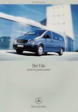 Prospekt 2004 Mercedes-Benz Vito Kombi Personentransporter 9/04 Autoprospekt