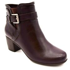 Women/'s Croft /& Barrow Holly Ortholite Ankle Boot Black N43 New