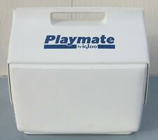 Vtg 1988 Igloo PLAYMATE COOLER Super Rare SOLID WHITE COLOR Excellent Condition