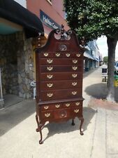 Outstanding Chippendale Ball & Claw Highboy 20th Century