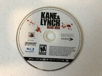 Kane and Lynch Dead Men - Playstation 3 PS3 - Cleaned & Tested
