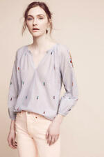 $118 Anthropologie Stitched Lucia Top  new size L