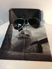 Randolph Engineering USA Silver Chrm Sunglasses 57mm Item #50