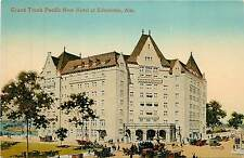 Canada, Alta, Edmonton, Grand Trunk Pacific New Hotel Early Postcard