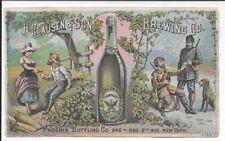Trade Card, Clausen & Son Brewing Co. (Phoenix Bottling Co.) c1876
