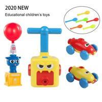 Fun Inertia Balloon Powered Car Toys Aerodynamics Inertial Power Kids Gift