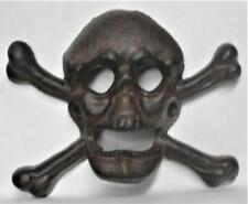 Unusual Cast Iron Skull & Cross Bones Pirate High Seas Capt Kidd Bottle Opener