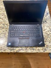 Lenovo ThinkPad T460s i5 6300U @ 2.4GHz 8GB RAM No HD No AC Adapter Broken Hungr