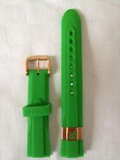 Cinturino Originale Fila colore Verde Gomma 20 mm Sportivo UHR Unisex ALTM75
