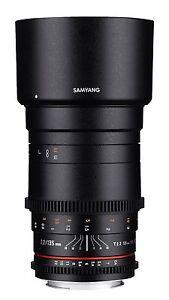 Samyang VDSLR II 135mm T2.2 ED UMC Telephoto Cine Lens for Nikon F - SYDS135M-N