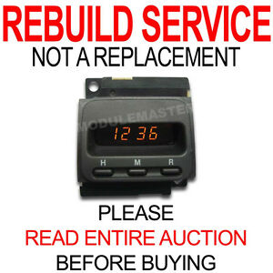 Rebuild Repair for 97 98 99 00 01 Honda CRV CR-V Clock