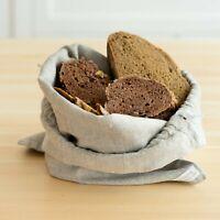 Leinen Brotbeutel - Brotsack aus Leinen - Leinensack - Leinenbeutel für Brot