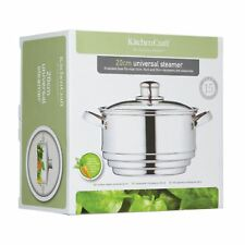 Kitchen Craft 20cm Universal Steamer for 16/18/20cm Saucepans