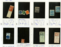 France Stamps Early Revenue Colis Postage Stock All identified
