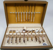 International Silver Co. 50 Piece Silverplated Flatware Set - Service for 8