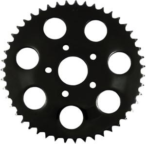Drag Specialties Black Flat 49 Tooth Rear Sprocket for 86-92 Harley Sportster