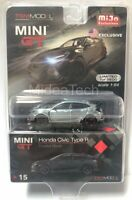Mini GT 1/64 2017 Honda Civic Type R FK8 (Crystal Black) MGT00015 Raw Chase Car