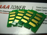 4 x Toner Chip for Ricoh Aficio SP C340DN Printer (407895 ~ 407898) G163 Refill